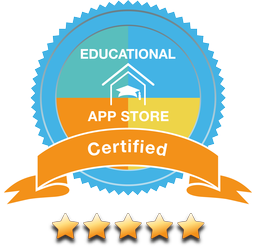 Five-star certificate at the Educational App Store